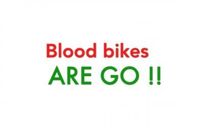 Blood Bikes are go!
